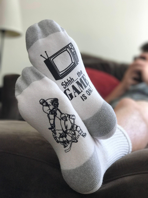 Eishockey Socken Hockey Geschenke Geschenke für Papa   Etsy