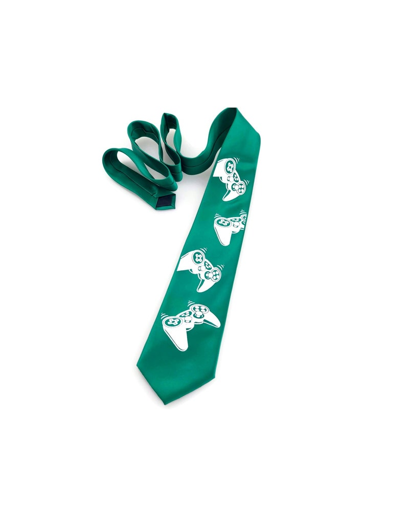 Gamer Gift Tie - Gaming Gift, Gifts for Gamers, Video Game, Gifts for  Teens, Gifts for Men