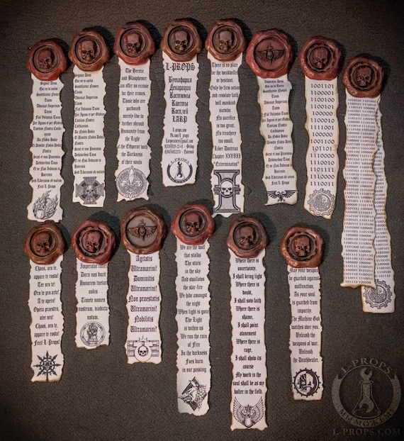 Warhammer 40K magnetic Purity Seals