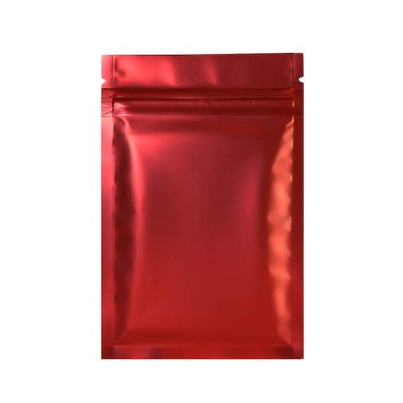 "2.4x3.5/"" Various Quantity Glossy Purple Flat Mylar Foil Zip Lock Bags 6x9cm"
