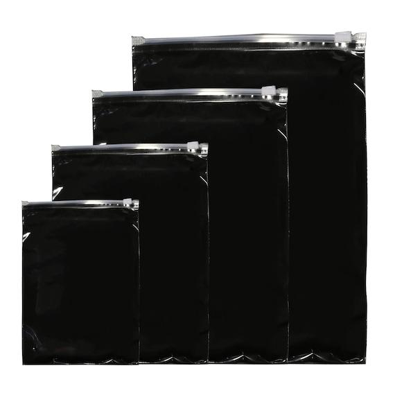 C28-paquet de 150 150 150 couleur claire avant arrière Poly curseur fermeture vêtements, sacs de rangement d63f98