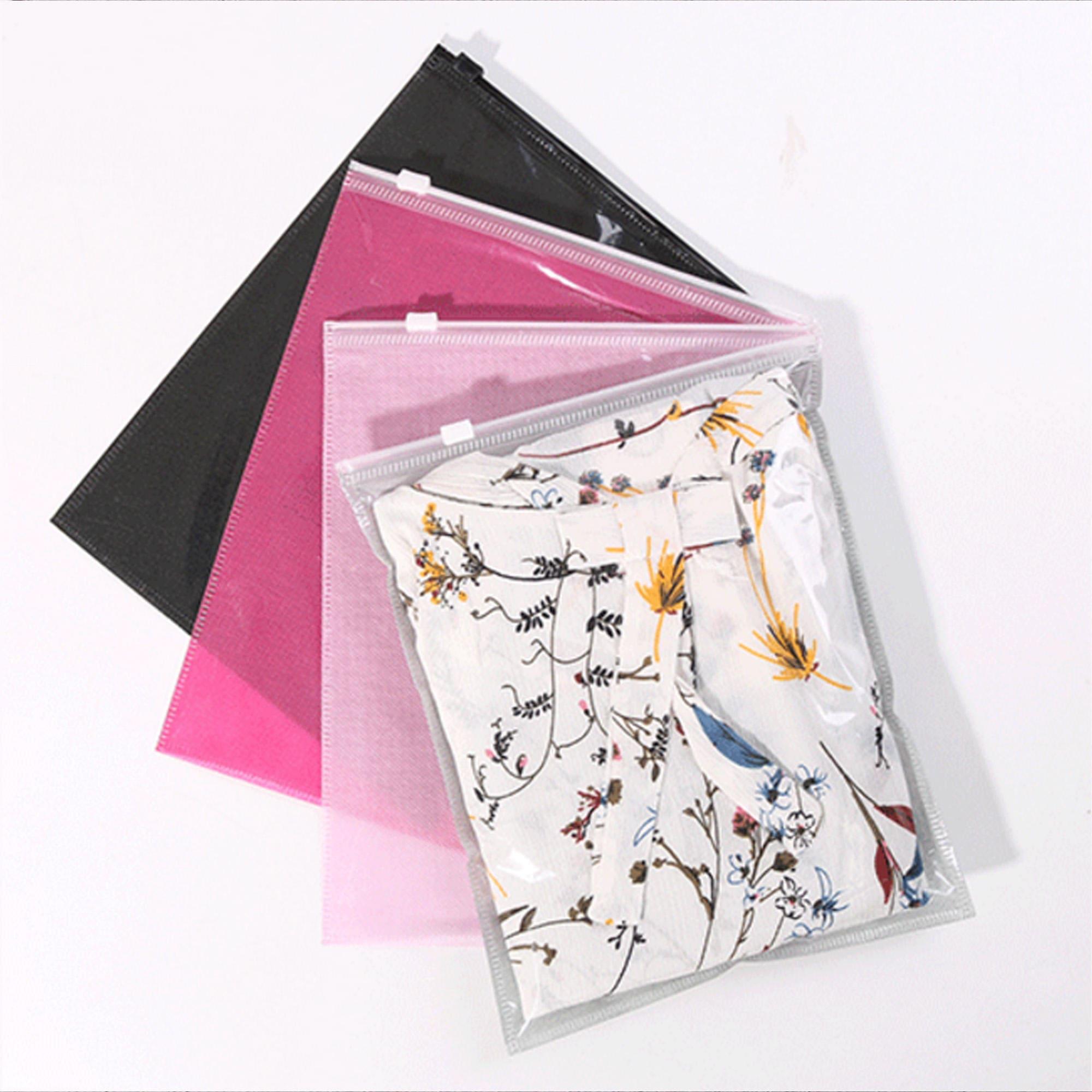 C28-paquet de fermeture 150 couleur claire avant arrière Non-tissée curseur fermeture de vêtements, sacs de rangement ec05c6
