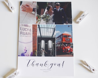 Photo Thank You Card, Wedding Thank You Card
