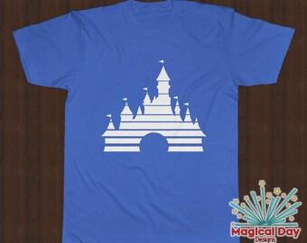 Disney Shirts - Old School Disney Movie - Cinderella's Castle