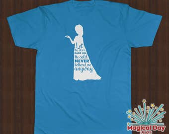 Disney Shirts - Let It Snow - Elsa - Frozen