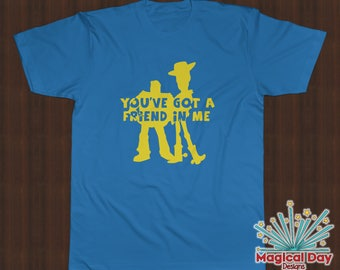 Disney Shirts - You've Got a Friend In Me (Yellow Vinyl Design)