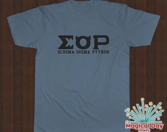 Disney Shirts - Slugma Oozma Python (EOP) Monsters University (Black Design)