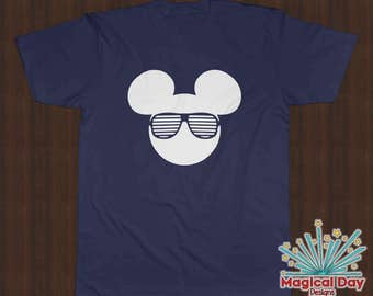 Disney Shirts - Mickey Mouse Stunner Shades (White Design)