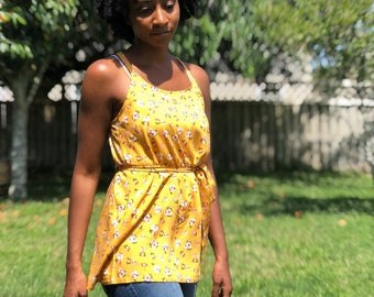 The Indigo Dress and Top - PDF Sewing Pattern
