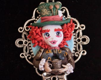 Mad Hatter necklace |  Mad Hatter