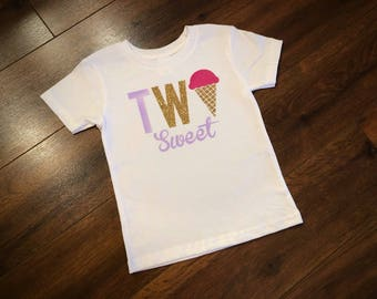 Two sweet kids tee