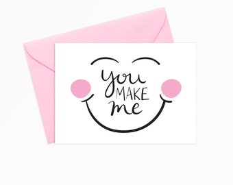 You Make Me Smile Etsy