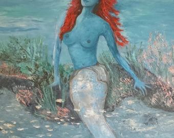 La sirene bleute