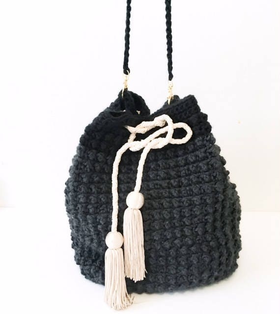 Crochet Bag Pattern The Jackie Bag Pattern Beginner Bag Etsy