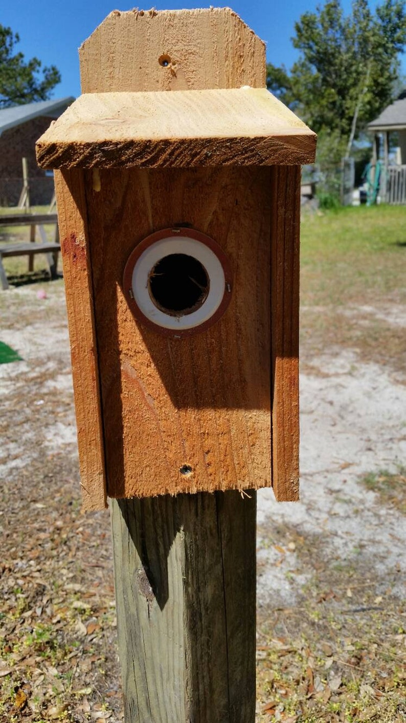 Three Birdhouse Bird Nest Breeding Box Wildlife World Pet Supplies
