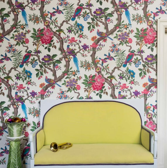 Cole And Sons Wallpaper FONTAINEBLEAU Floral