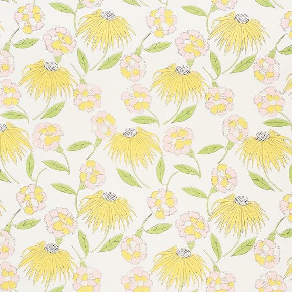 Schumacher Curtains Celerie Kemble Curtains Bouquet Toss Etsy