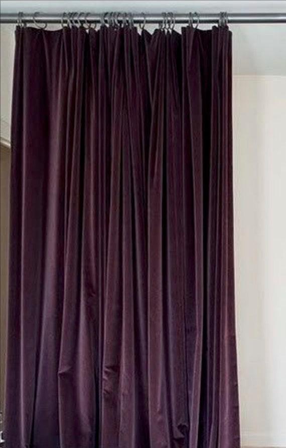 Velvet Shower curtain velvet green velvet shower curtain | Etsy