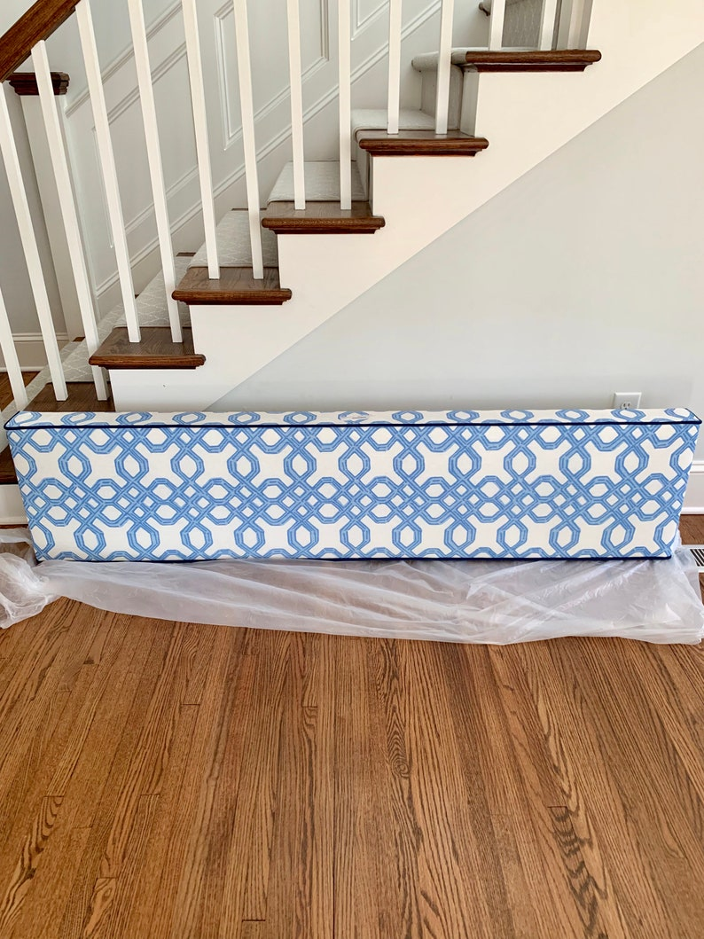 Blue White Cornice Lee Jofa Lilly Pulitzer Well Connected Etsy