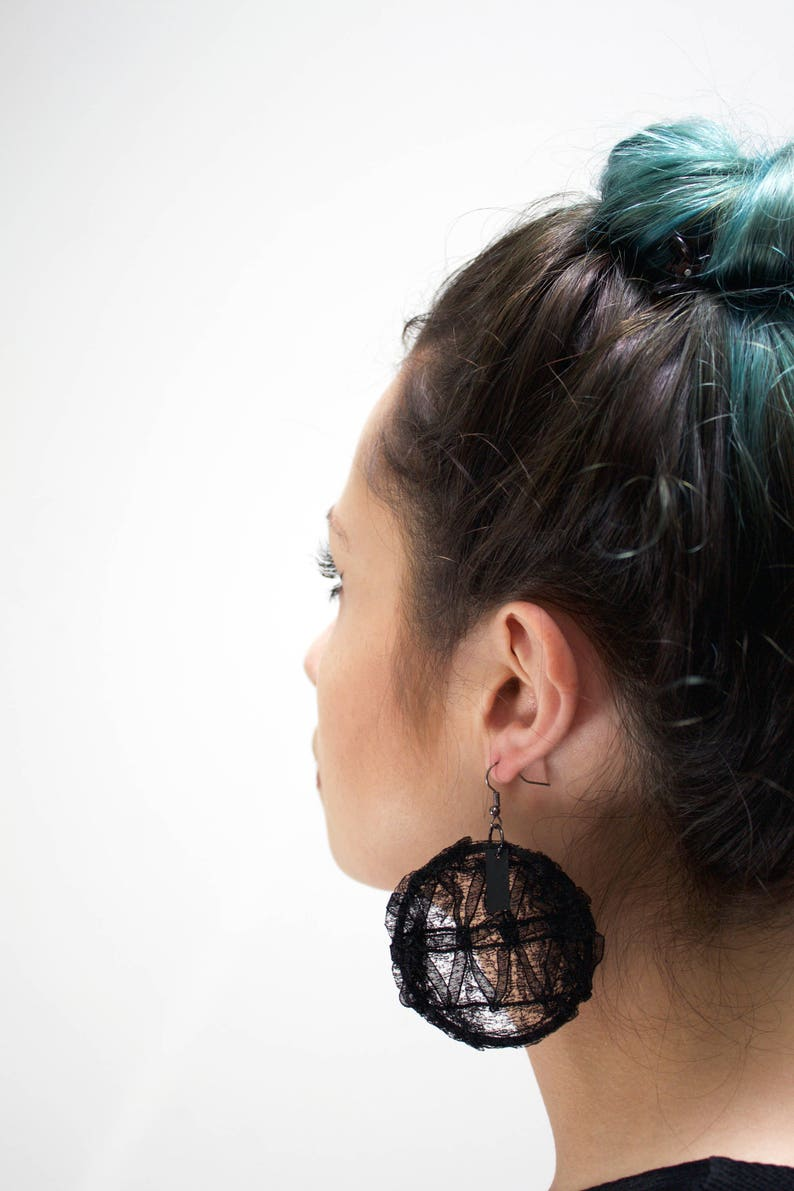 Lace Ear hoops Secret image 0