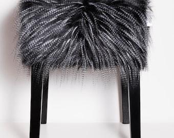 My Bob - Hocker EMU - Anthrazit Long Hair