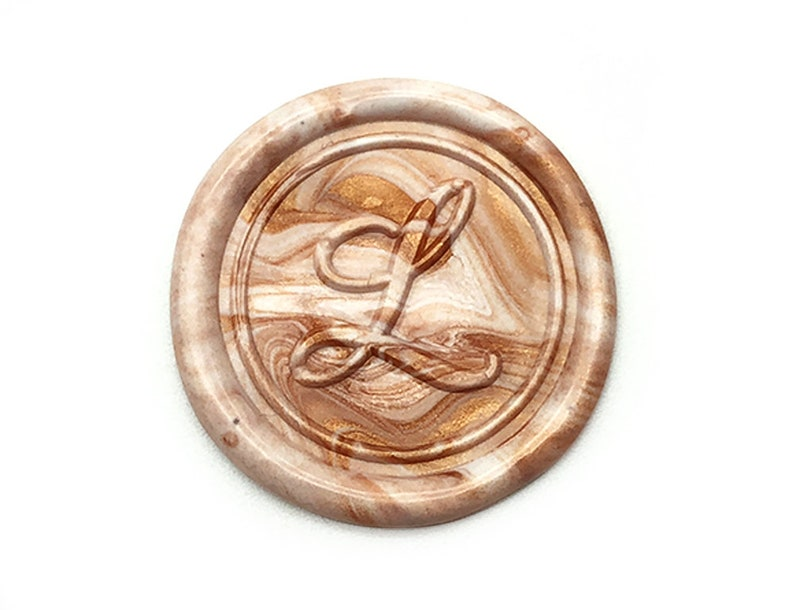 Personalized 1 Initial Monogram Wax Seal Stamp