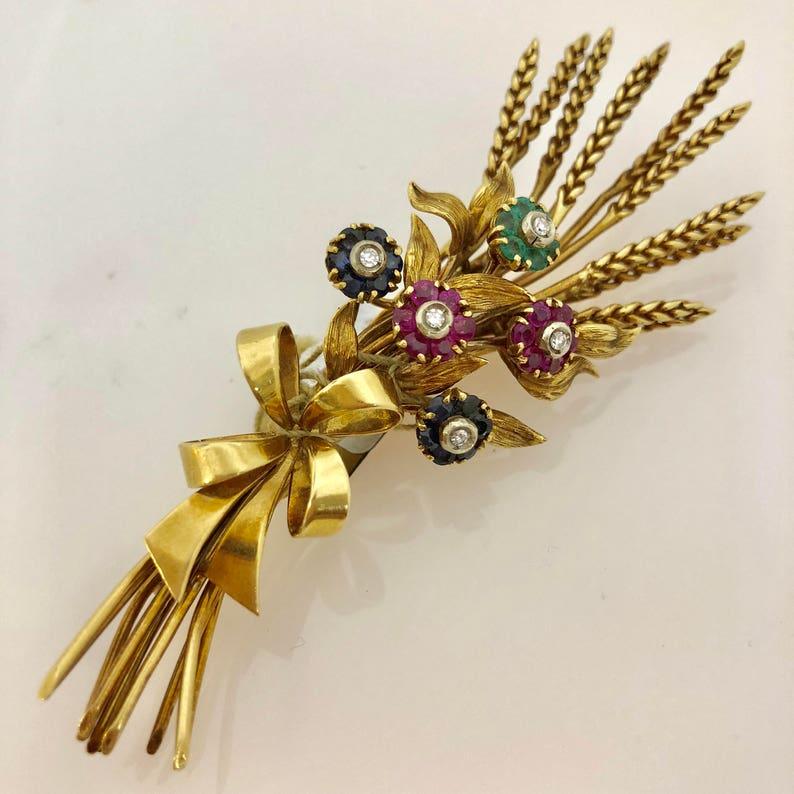 b42dbbe886a Mid Century Signed Tiffany   Co 18K Italian Yellow Gold