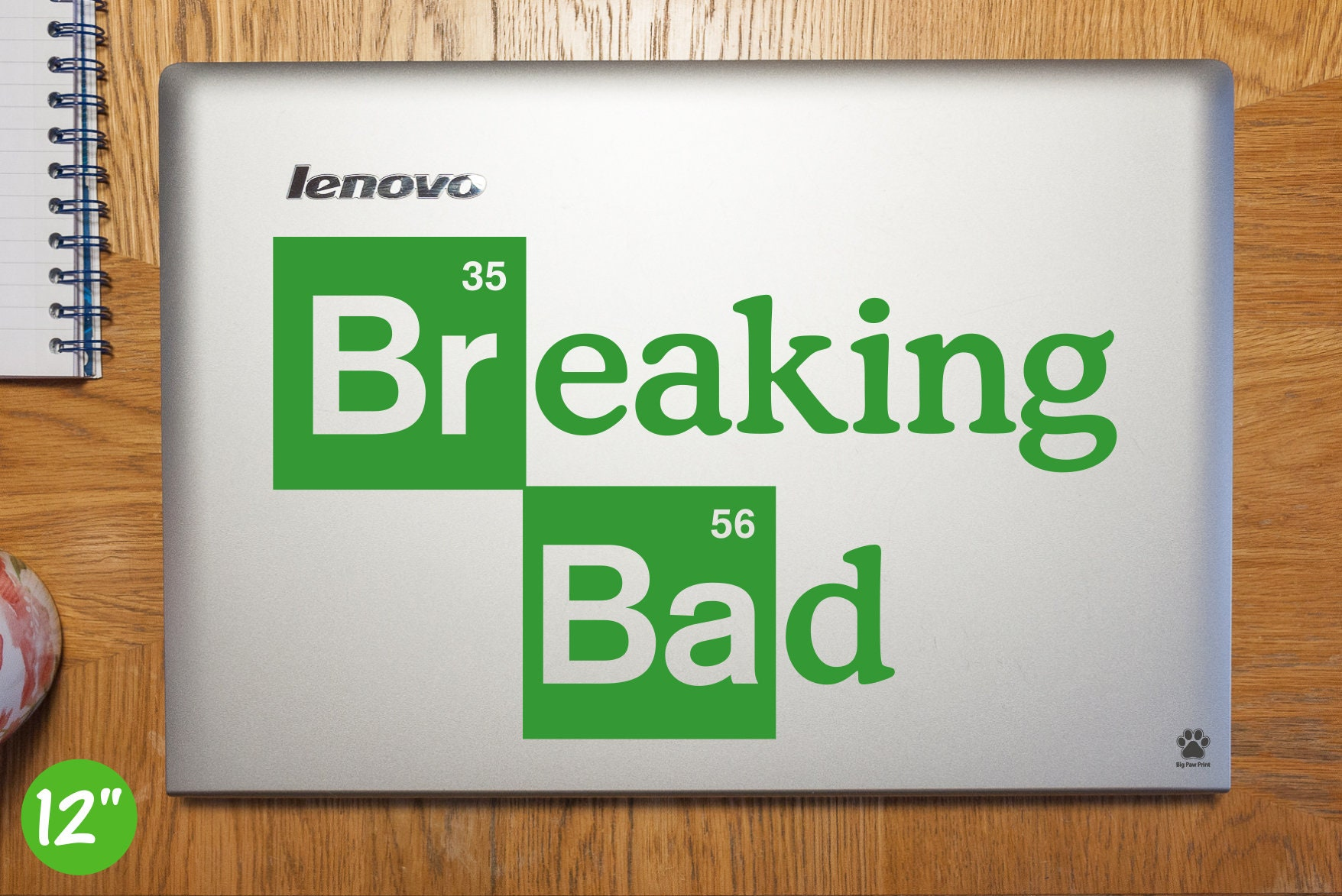 Breaking Bad Laptop Sticker Laptop Decal Breaking Bad Car Bumper