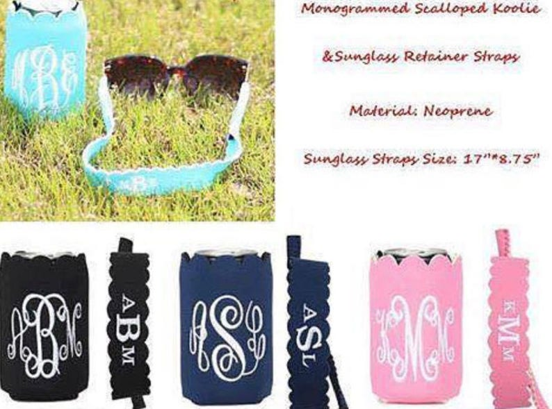 Can cooler and sunglass strap sunglass strapa and can cooler image 0