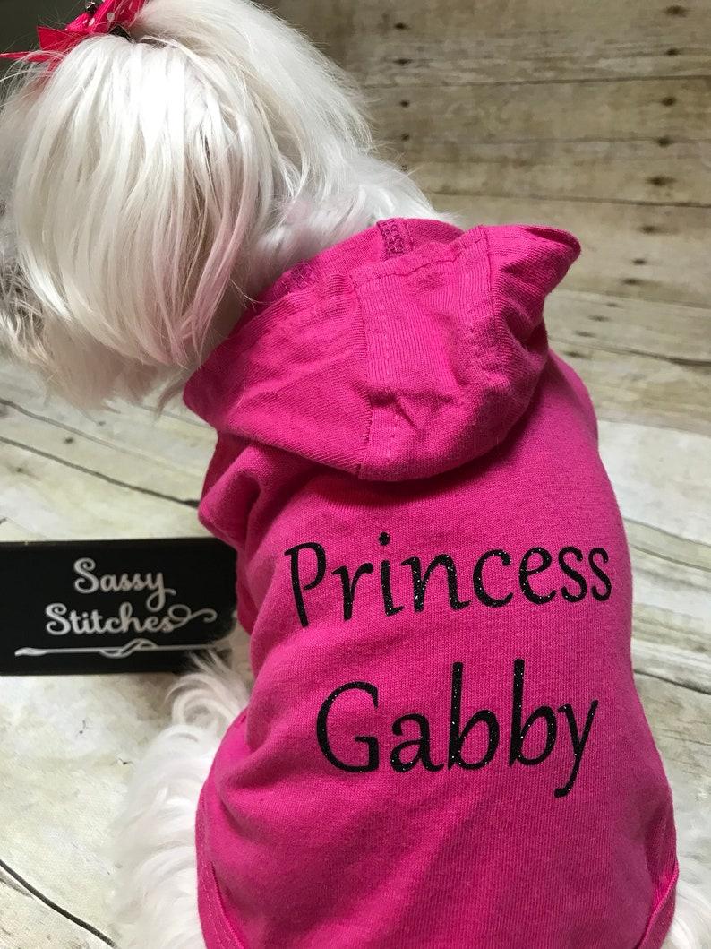 Dog hoodie personalized  dog shirt personalized dog hoodie image 0