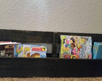 Pallet Shelf Furniture Kids Book