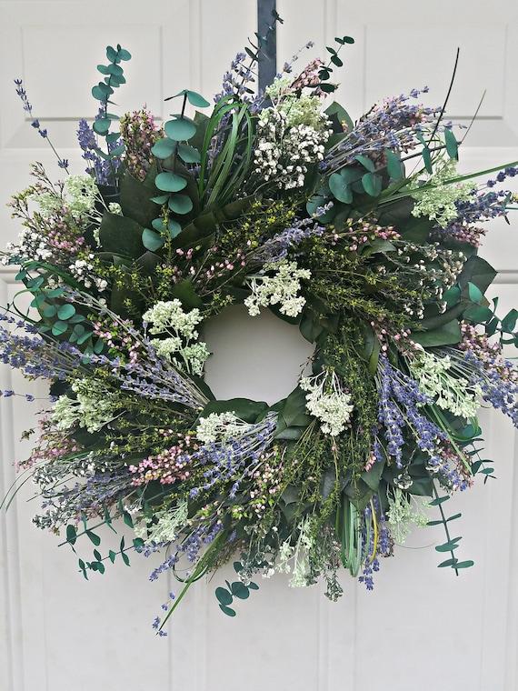 Fall wreath, gift wreath, indoor wreath, leaf wreath, dried wreath, preserved wreath, door wreath, home decor, housewarming wreath