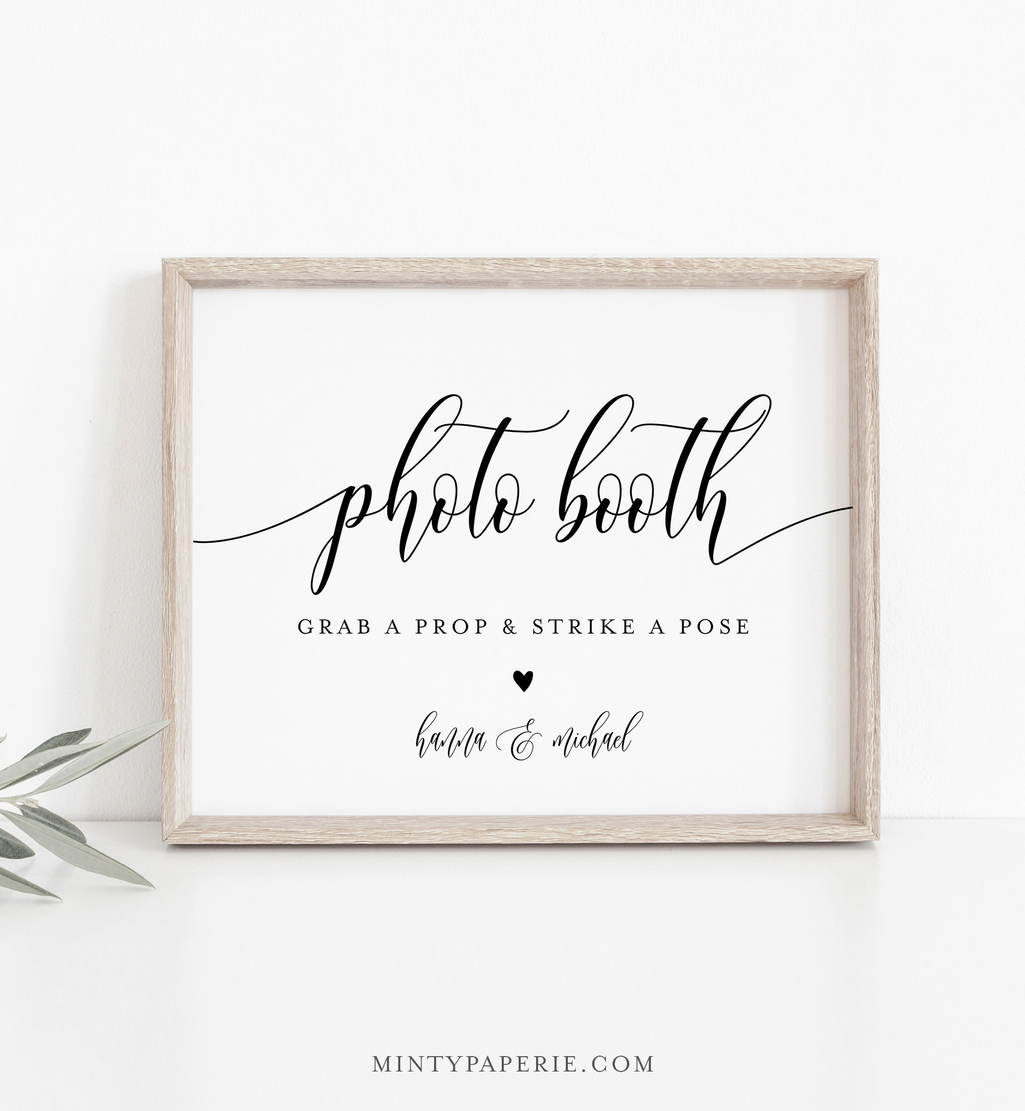 picture relating to Photo Booth Sign Printable referred to as Image Booth Signal, Printable Wedding day Image Booth Props
