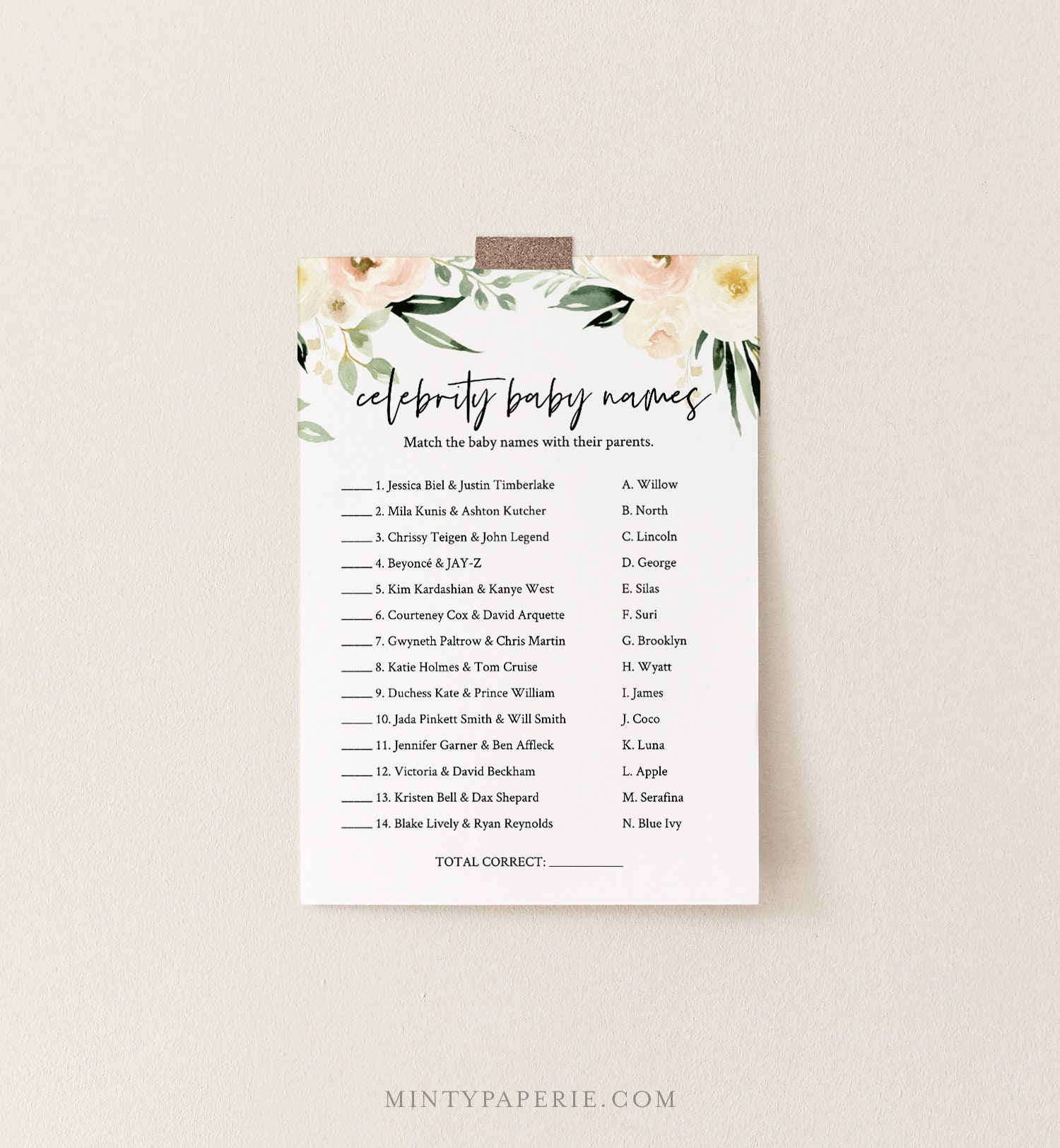 It's just a graphic of Celebrity Baby Name Game Printable for nautical