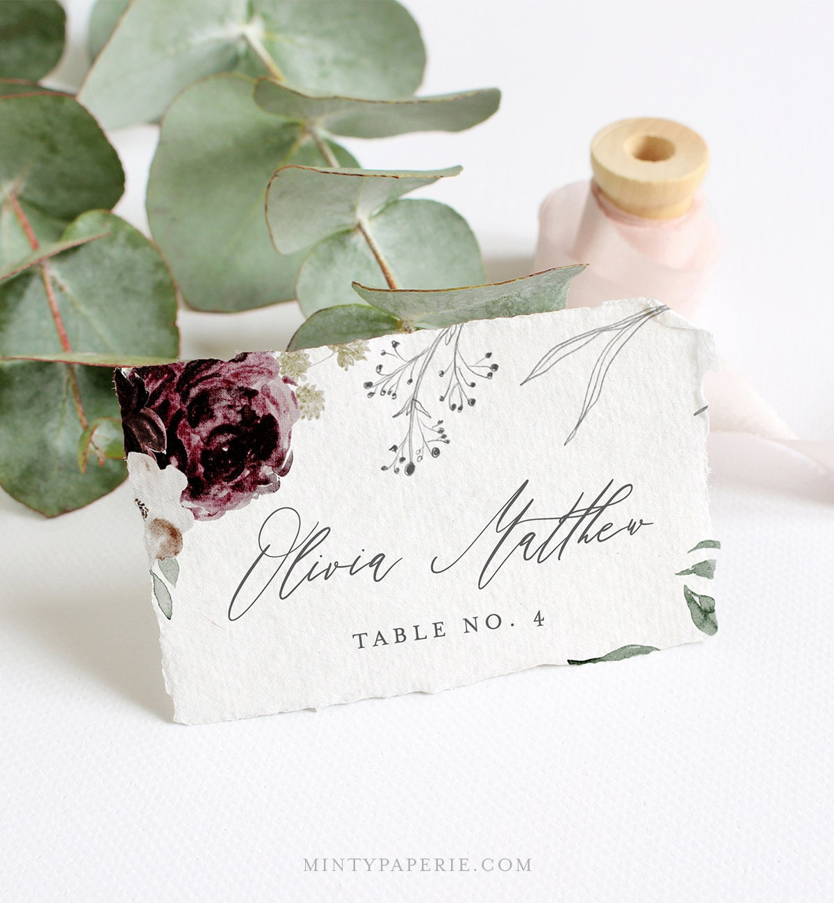 It's just a graphic of Free Printable Wedding Place Cards for wedding seating plan