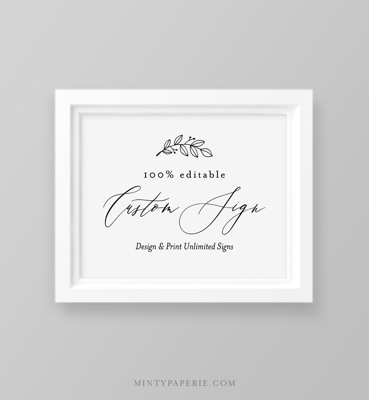 Wondrous Editable Wedding Sign Template Create Unlimited Custom Download Free Architecture Designs Scobabritishbridgeorg