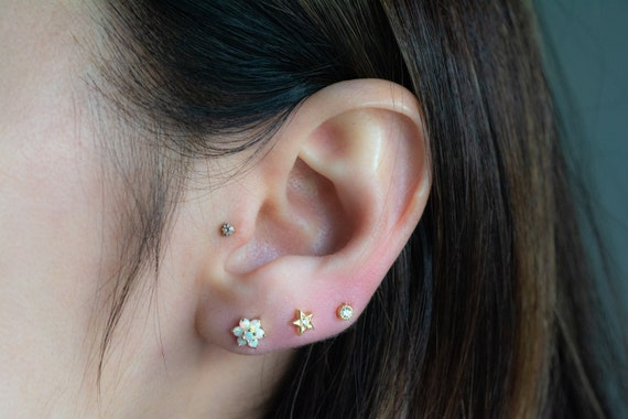 Opal Studs Stone Studs Gold Filled Earrings Opal Stud Earrings Gift For Her Post Earrings Women/'s Stud Earrings Gemstone Studs