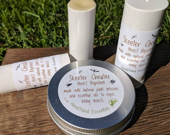 Skeeter Cheater all natural insect repellent