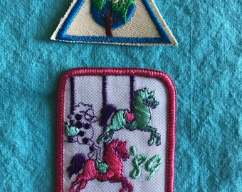 1980s Girl Scout patches FREE SHIPPING