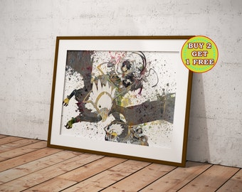 Anime, Log Horizon, Anime Art, Anime Poster, Anime Watercolor, Manga Art OC-928