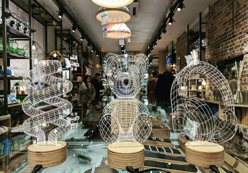 Gift for women Acrylic Lamp Desk lamp LED Night Light 3D Illusion Light 3D Heart Hands Lamp 3d lamps Gift Idea Gift for men