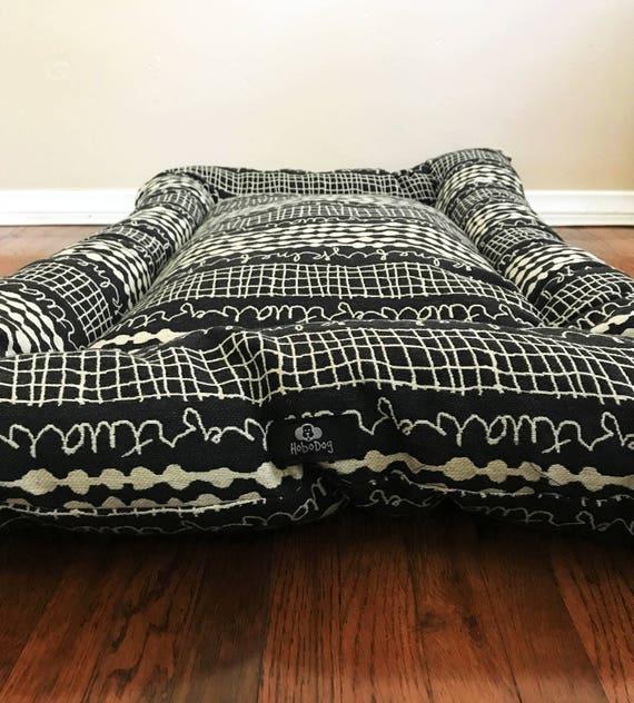 Noir Soldes Lit Pour Chien Moderne Dog Bed Dog Crate Mat Etsy