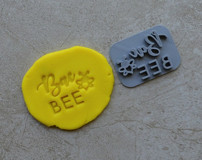 Bae Bee Imprint Cookie/Fondant/Soap/Embosser Stamp