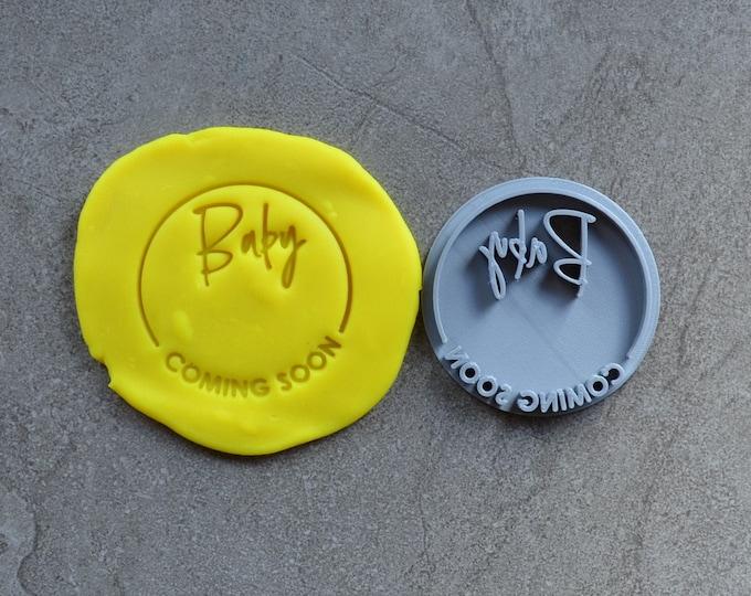 Baby DIY Stamp Imprint Wedding Engagement Cookie/Fondant/Soap/Embosser Stamp