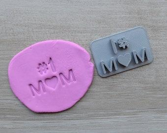 Number 1 Mum Imprint Cookie/Fondant/Soap/Embosser Stamp