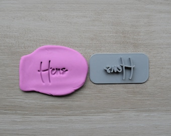 Hens Imprint Cookie/Fondant/Soap/Embosser Stamp