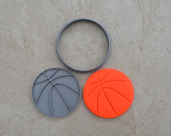 Basketball Cookie Fondant Cutter & Stamp Fondant