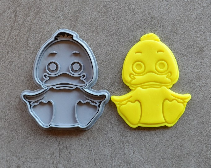 Duck Chicken Cookie Fondant Cutter & Stamp
