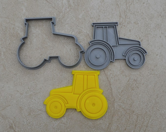 Tractor Cookie Fondant Cutter & Stamp Fondant