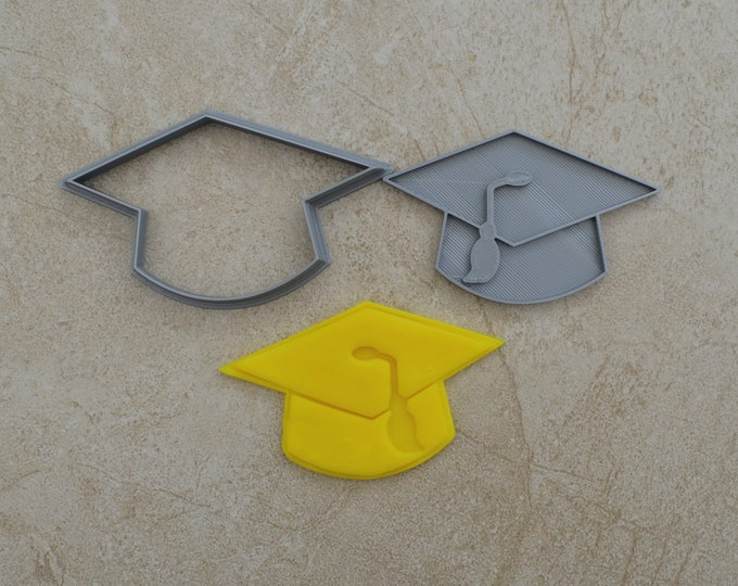 Graduation Hat Cookie Fondant Cutter & Stamp Fondant